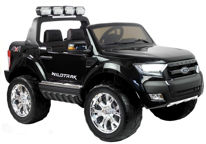 elektroauto f r kinder ford ranger schwarz 4x45w 2x12v7ah. Black Bedroom Furniture Sets. Home Design Ideas