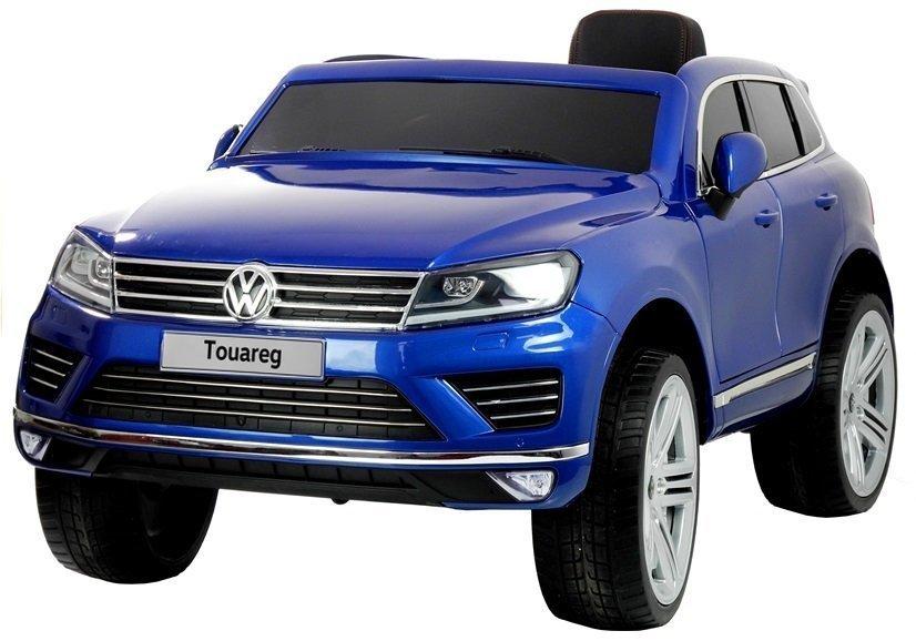 auto f r kinder volkswagen touareg kinderfahrzeug blau. Black Bedroom Furniture Sets. Home Design Ideas