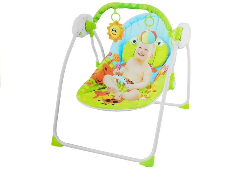 babywippe babyschaukel spielbogen mit 2 rasseln wippe. Black Bedroom Furniture Sets. Home Design Ideas