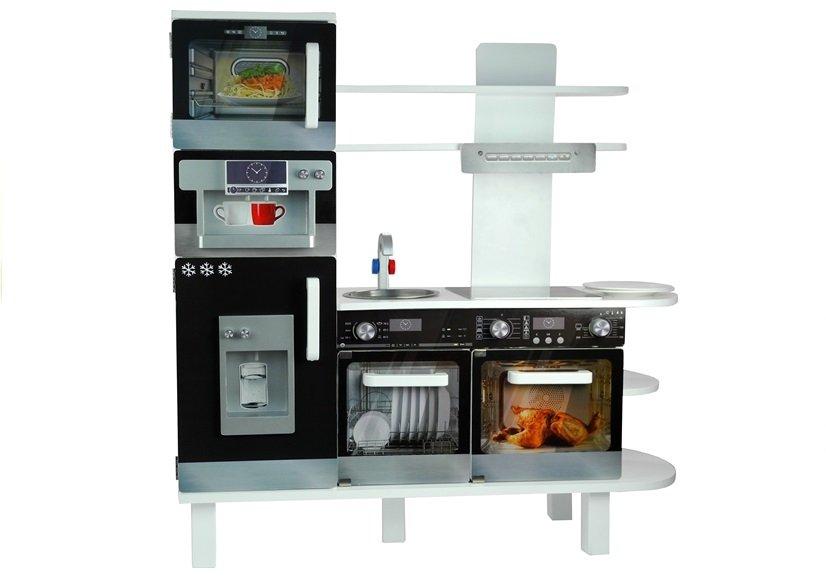 Mini Kühlschrank Für Kaffeemaschine : Holzküche mit kaffeemaschine kühlschrank backofen regal mikrowelle