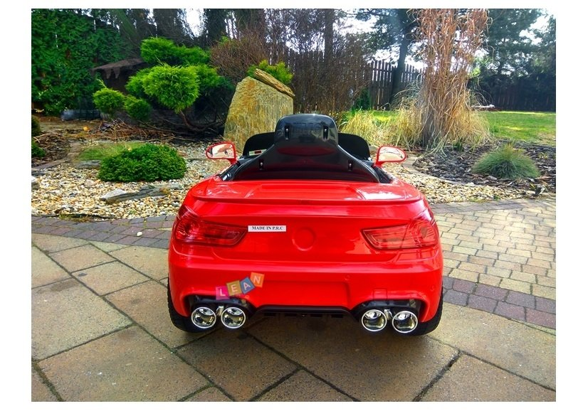 elektroauto f r kinder bs4 rot eva reifen federung elektrofahrzeuge autos. Black Bedroom Furniture Sets. Home Design Ideas