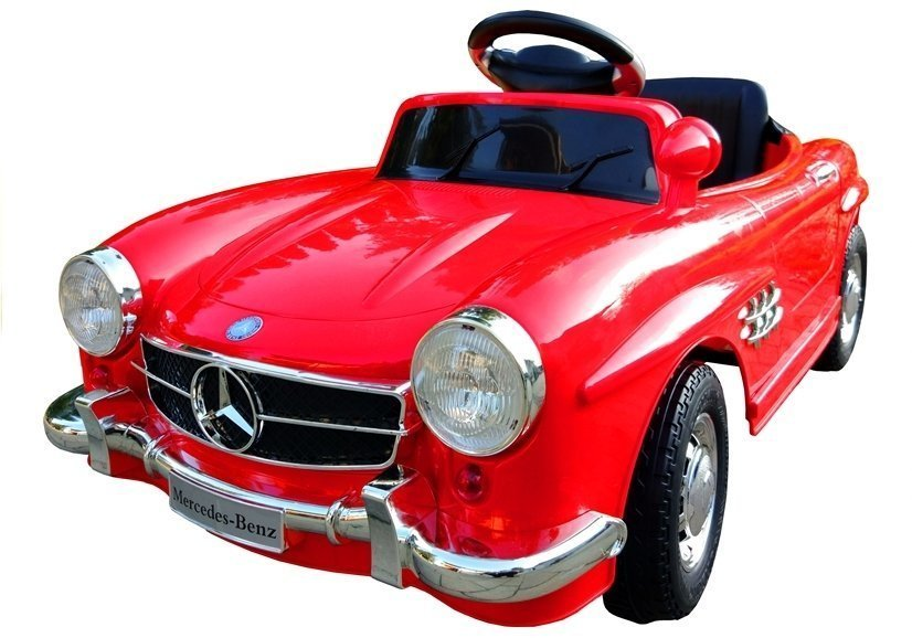 elektroauto f r kinder mercedes 300sl amg rot 2x45w 2 4g. Black Bedroom Furniture Sets. Home Design Ideas