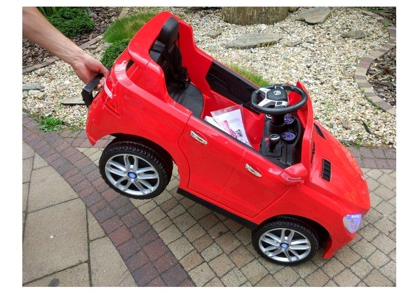 elektroauto f r kinder mercedes ml350 rot 2 4g fernbedienung mp3 ledersitz auto. Black Bedroom Furniture Sets. Home Design Ideas
