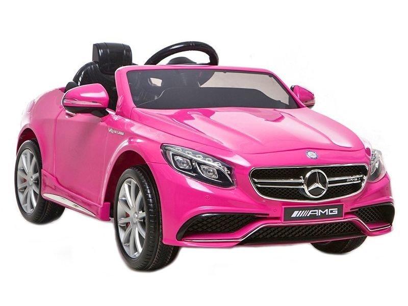 Mercedes Für Kinder : elektroauto f r kinder mercedes s63 amg pink elektrofahrzeuge autos ~ Aude.kayakingforconservation.com Haus und Dekorationen