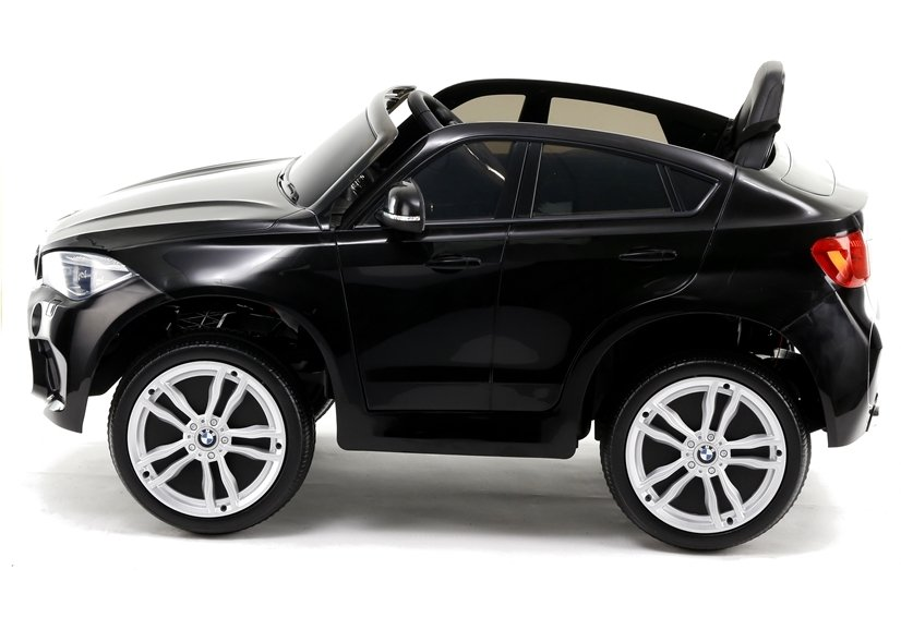 kinderfahrzeug bmw x6 ledersitz schwarz led scheinwerfer. Black Bedroom Furniture Sets. Home Design Ideas