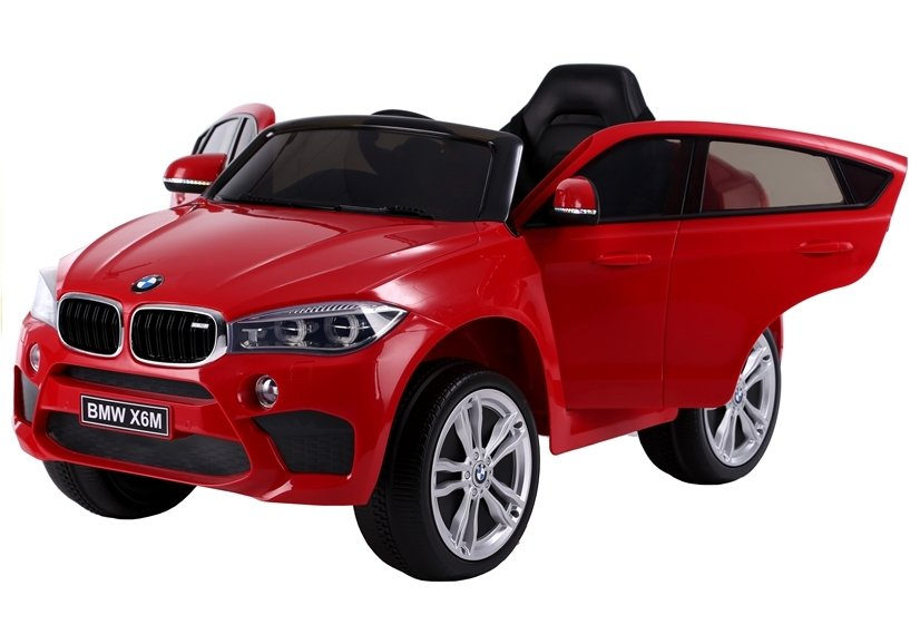 kinderfahrzeug kinderauto bmw x6 rot auto f r kinder. Black Bedroom Furniture Sets. Home Design Ideas