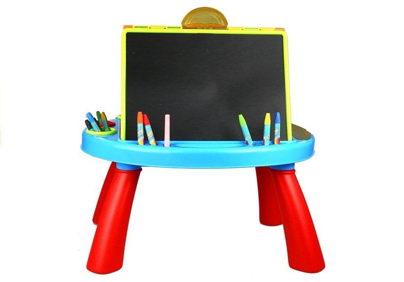 kindertafel tafel f r kinder set kreide buntstifte filzstifte maltafel spielzeug kindertafel