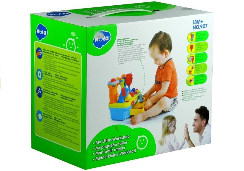 Kinderwerkbank Werkbank Lernspaß Licht&Sound Interaktiv ...