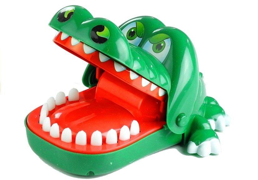 Krokodil Spiel Zähne