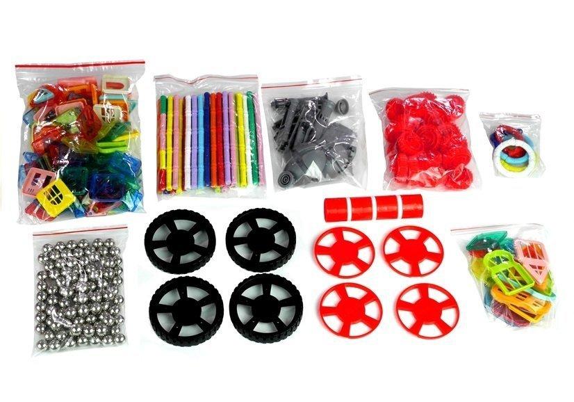 magnetbausteine 458 elemente 2830 spielzeug f r kinder set bausteine spielzeug baukasten. Black Bedroom Furniture Sets. Home Design Ideas
