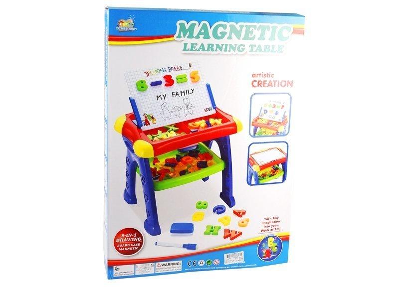 magnettafel buchstaben ziffern tafel f r kinder schwamm marker spielzeug kindertafel. Black Bedroom Furniture Sets. Home Design Ideas