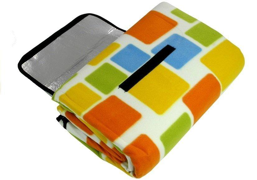 picknickdecke 200x200 kariert weiches material campingdecke reisedecke decke turystyka. Black Bedroom Furniture Sets. Home Design Ideas
