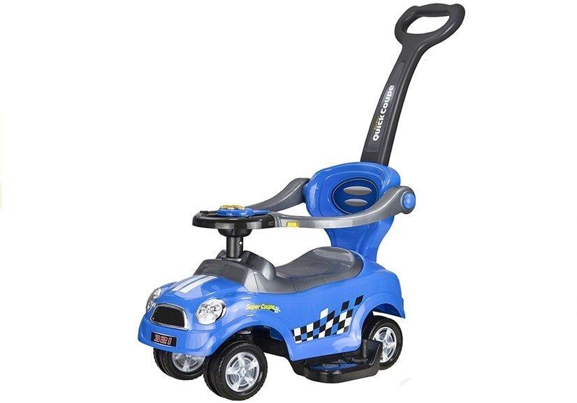 rutschwagen rutschauto quick coupe blau rutschauto f r. Black Bedroom Furniture Sets. Home Design Ideas