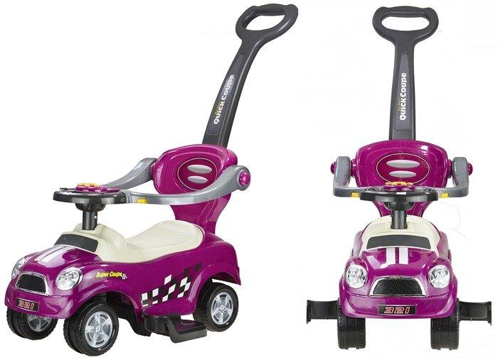 rutschwagen rutschauto quick coupe violett rutschauto f r. Black Bedroom Furniture Sets. Home Design Ideas