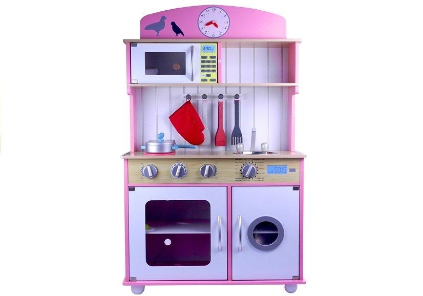 spielk che holz zubeh r pfanne topf k chenzubeh r herd waschmaschine mikrowelle holzspielzeug. Black Bedroom Furniture Sets. Home Design Ideas