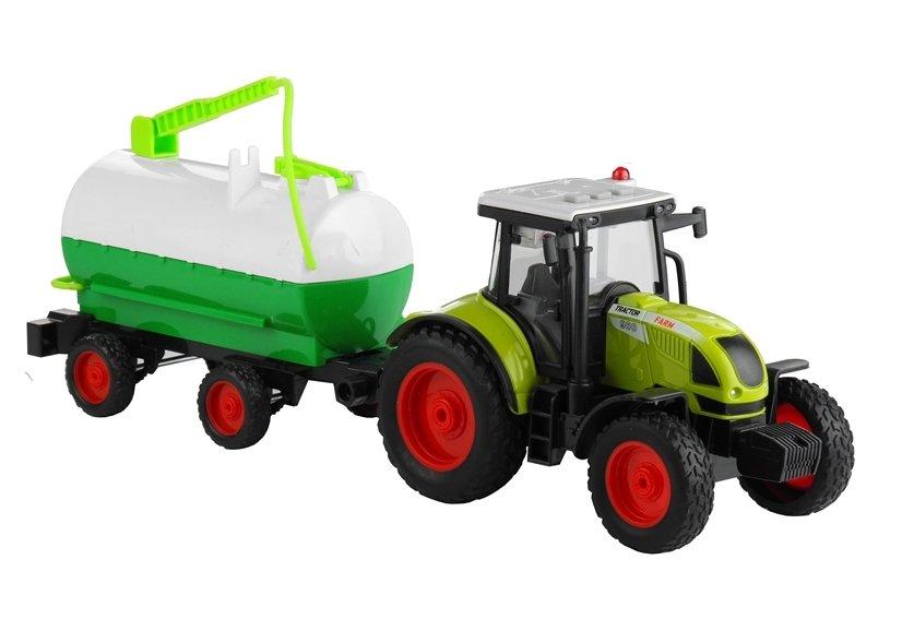 traktor mit zisterne 37 5 cm sound licht landwirtschaft. Black Bedroom Furniture Sets. Home Design Ideas