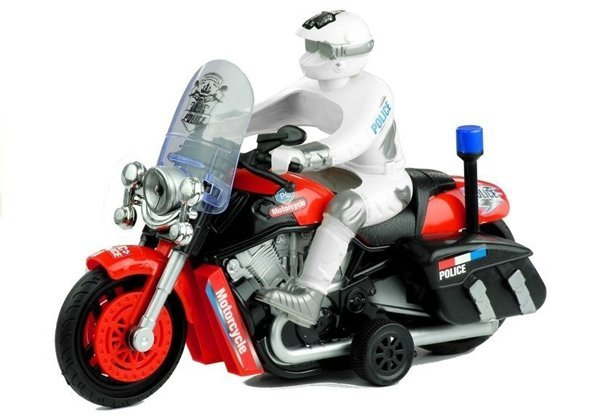 Motorrad Police Bike Mobile Wheels Sound & Lichteffekte