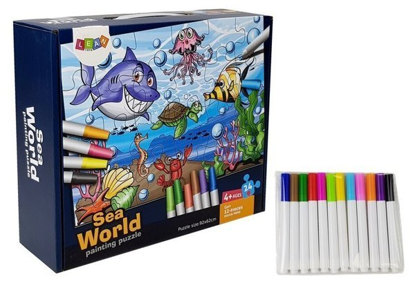 Seaworld Painting Puzzle 24 Teile